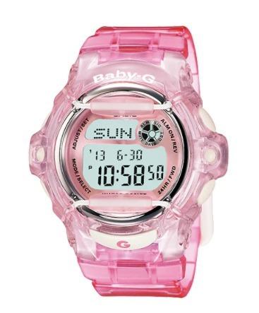 334ade91150e Malla Correa Reloj Casio Baby-g Bg 169 Color Rosa Original -   1.534 ...