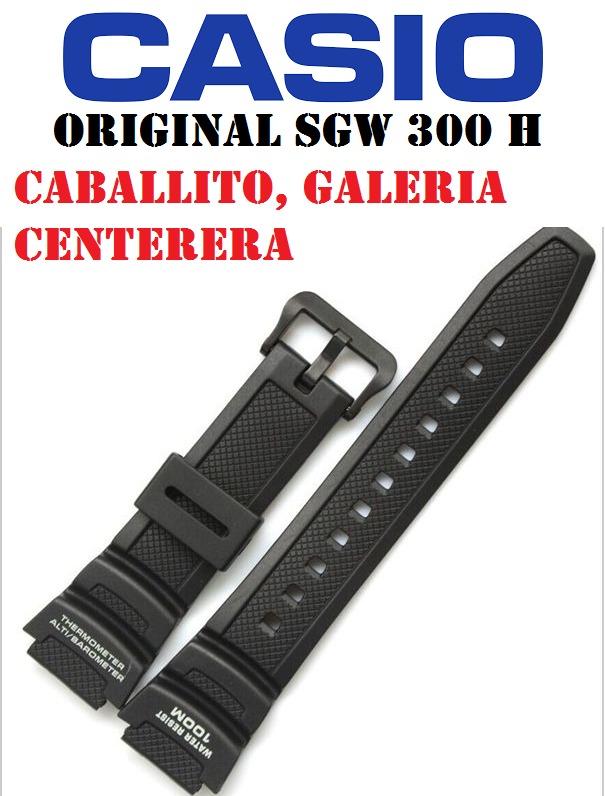 f8f31529a7c8 Malla Correa Reloj Casio Sgw 100 Sgw200 Original -   790