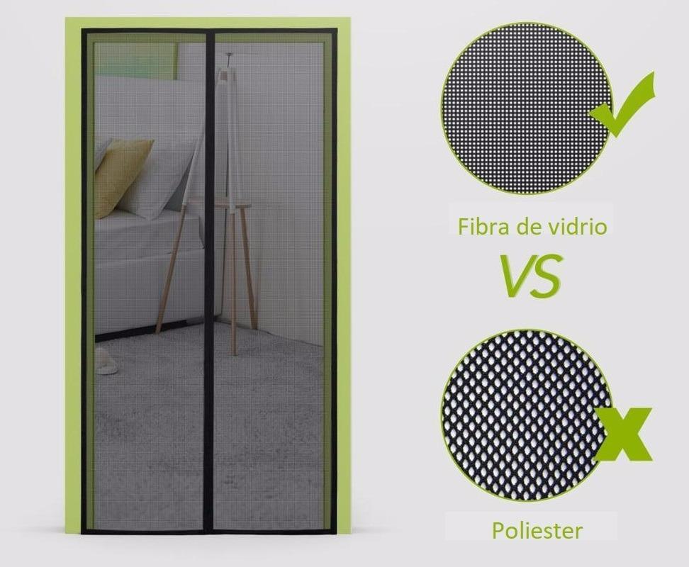 Malla cortina mosquitero magn tico de fibra de vidrio for Mosquitero magnetico