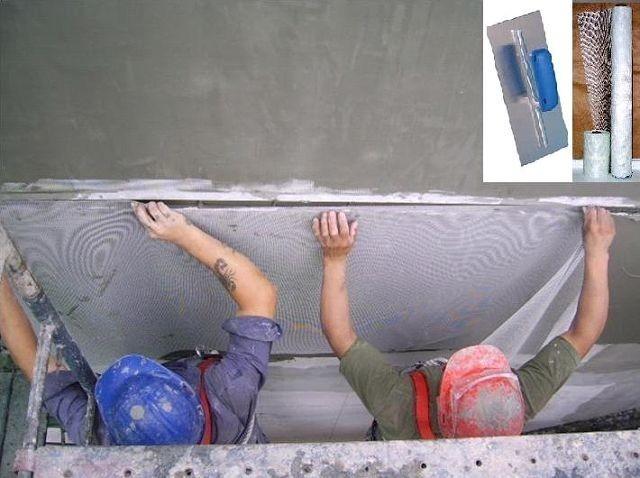 Malla de fibra de vidrio para construcci n no mas for Malla de fibra de vidrio
