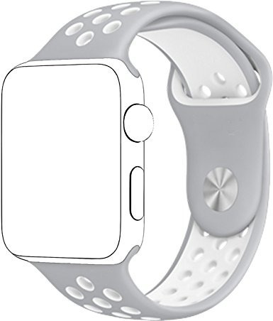 malla de goma deportiva reloj p/iwatch 42mm color serie 123