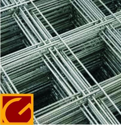 malla de hierro 4 mm (15x15) 6 m2 para construccion la plata