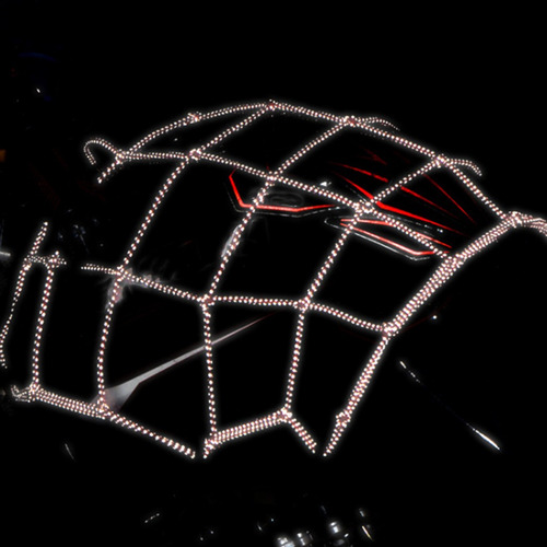 malla de motocicleta red de carga de bungee para