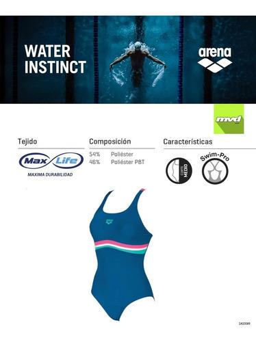 malla de natación arena prestige de dama piscina