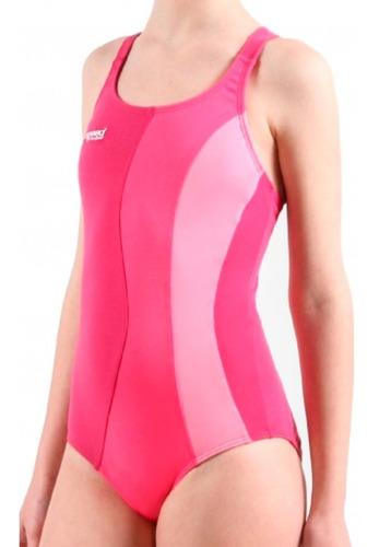 malla de natación competicion niña combinada anticloro speed