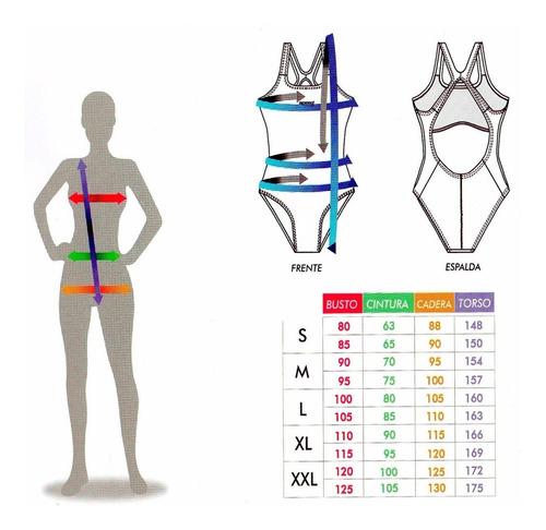 malla de natación mujer anticloro  combinada anatómica speed