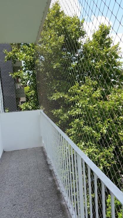 Malla De Proteccion Terrazas Con Estructura Metalica Balcon