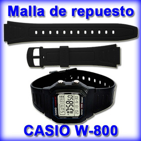 0e15c085b Relojes Casio Malla Caucho - Relojes Pulsera para Hombre en Mercado Libre  Argentina