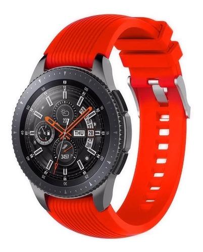 malla de silicona - samsung watch 1.4 / frontier y mas 22mm
