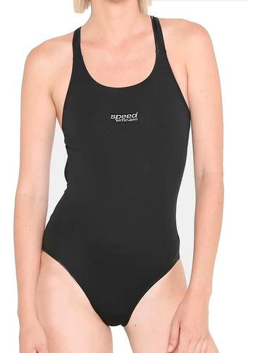 malla enteriza lisa speed natacion - mujer dama