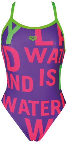 malla enteriza natación arena mujer manifesto maxlife
