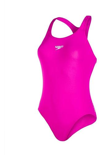 malla enteriza natación speedo mujer essential e+ medalist