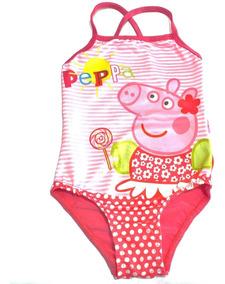 De Lycra Traje Peppa Pig Baño Malla Fty Calzados Enteriza MSUVpz