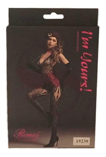 malla femenina erotica lenceria negra estandar mod. 19239