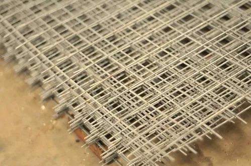 malla job shop galvanizada 50x50 x 2,6mm / panel 1,2x3mts
