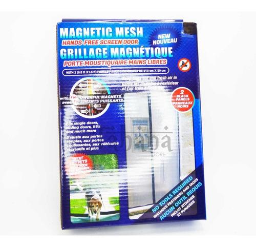 malla magnetica para puerta 210 cm x 100 cm mosquitero