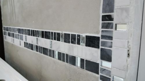 malla marmol y vidrio jaipur grey 30x30 -venecitas- la plata