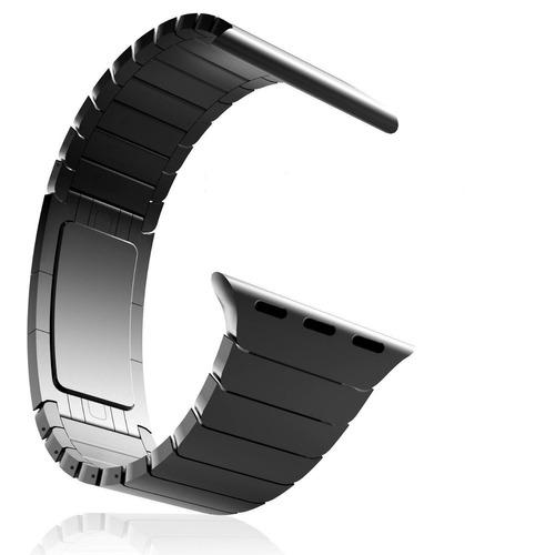 malla metalica acero link apple iwatch 38mm 42mm serie 1 2 3