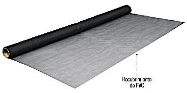 malla mosquitero rollo fibra de vidrio negra altura 150 cm