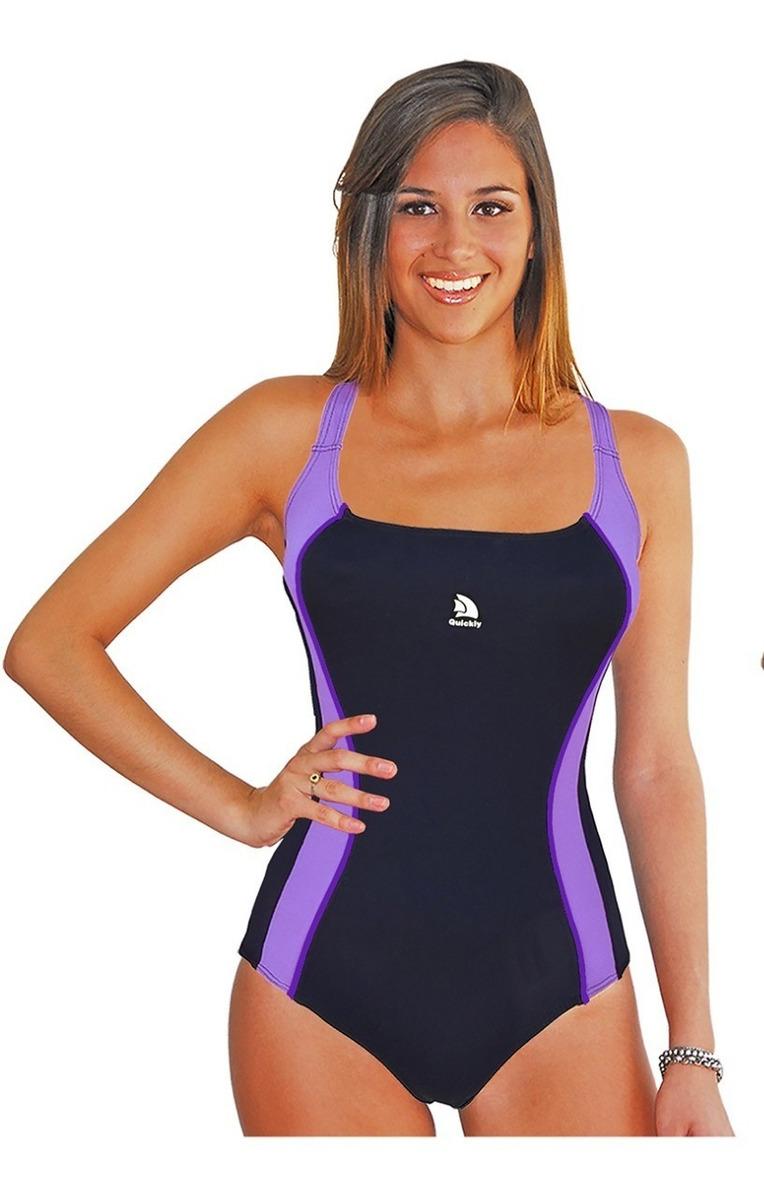 40255fd70a22 Malla Natacion Quickly Deportiva Mujer Resistente Cloro 1128