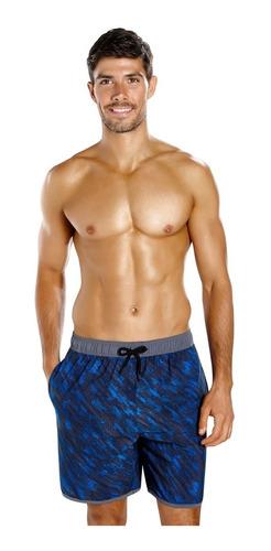 malla natación speedo hombre glide printed 18 pulgadas short