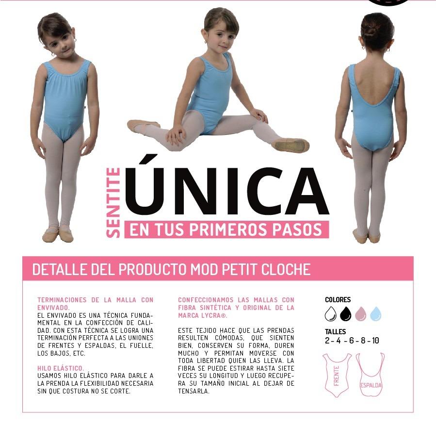 Malla Nena Ballet & Danza Abundance Mod. Petit Cloche - $ 537,00 en ...