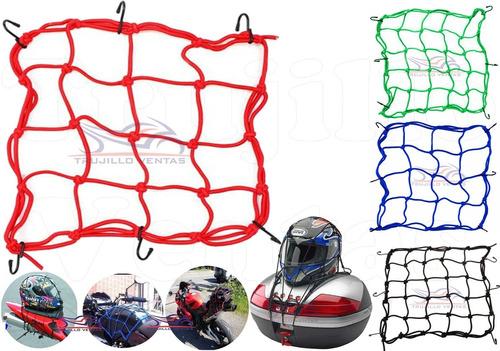 malla para casco equipaje cbr ns fz r15 elástica pulpo @tv