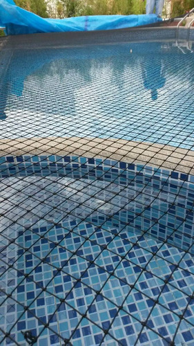 malla para protección de piscinas