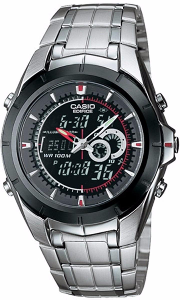 963b54d68640 malla para reloj casio efa-119 acero agente oficial. Cargando zoom.