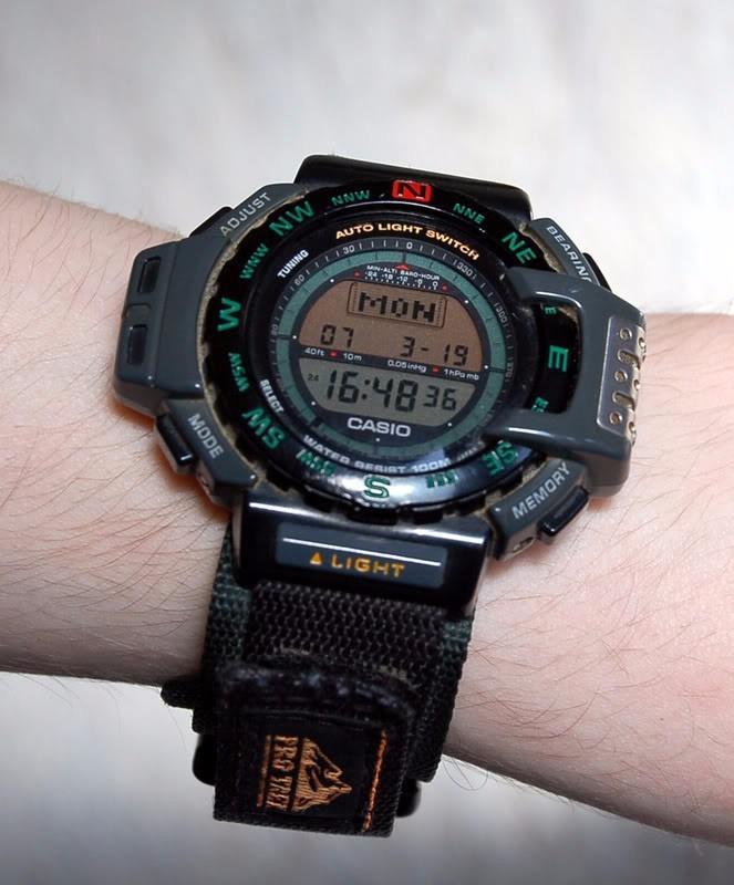 39c63eb04b18 malla para reloj casio prt-10 velcro azul agente oficial. Cargando zoom.