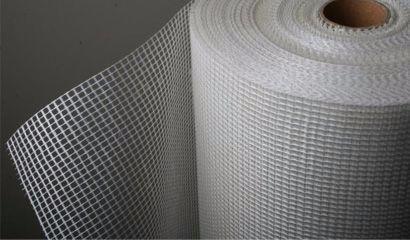 malla para revoque- fibra de vidrio 110grs 10x10mm 1x50mts