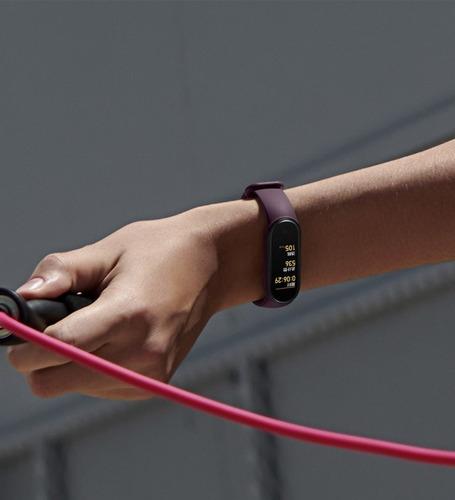 malla para xiaomi mi band 5 pulsera correa silicona colores