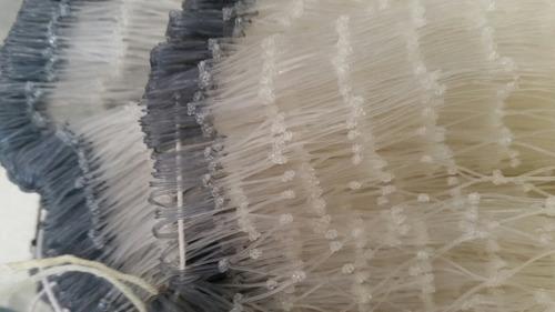malla pesca chinchorro o tarraya 47mm x 2 3/4 ×50×100mt