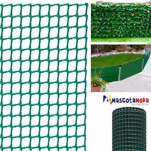 Malla plastica para jardineria cerramientos enredaderas for Jardines verticales quito