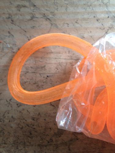 malla plastica tubular