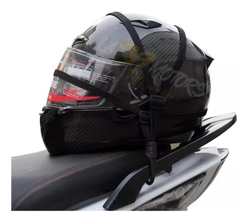 malla porta casco 2.1 porta equipaje