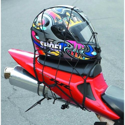 malla pulpo moto red banda elastica carga equipaje casco atv