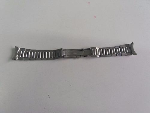 malla reloj acero inoxidable n.o.s vintage  alemana