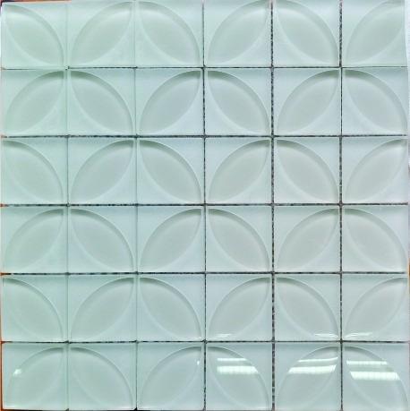 malla vidrio lauben blak bianco beige - venecitas - la plata