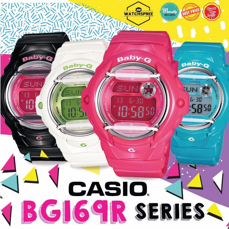 874d86364605 malla correa original casio baby g bg-169r varios colores!!! Cargando zoom.