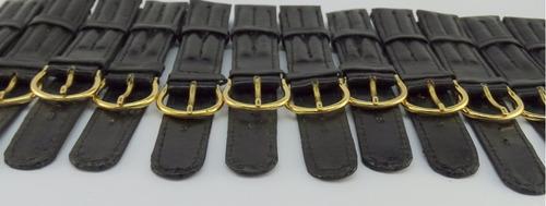 mallas cuero 18 mm reloj cuero 20cm  100 u. el trust joyero