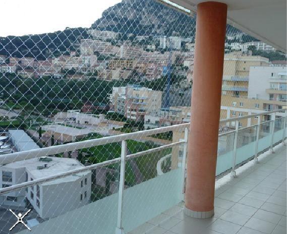 Mallas de protecci n para balcones terrazas ventanas u - Proteccion para terrazas ...
