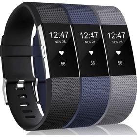 Mallas De Reloj Fitbit Charge 2 Hr / 3 Unidades / Talle L