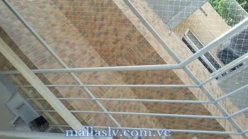 mallas de seguridad en balcones, caracas,invisibles