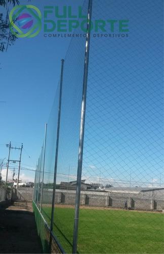 mallas perimetrales para espacios deportivos