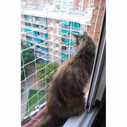mallas protección seguridad balcones ventanas niños mascotas