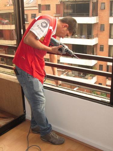 mallas protección seguridad, instalación cambio y reparación