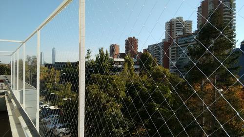 mallas protección seguridad ñuñoa - santiago - est. central