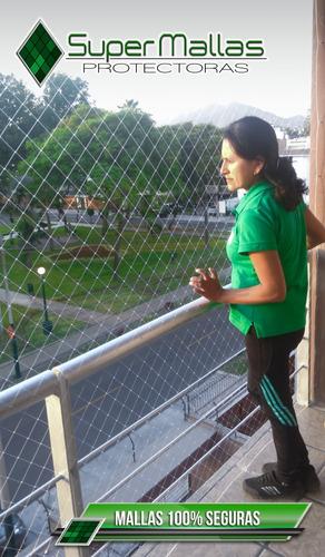 mallas protectoras en ventanas, balcones,escalera
