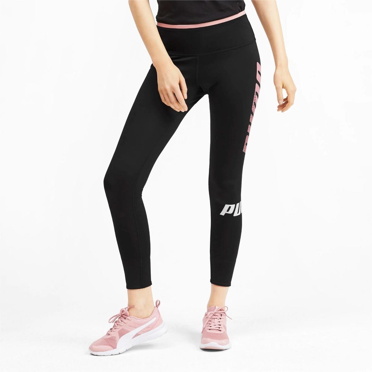 Mallas Puma Modern Sport Mujer Legging Negra Deportiva Orig